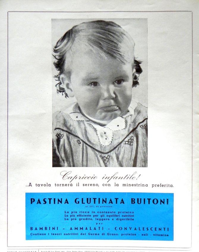 pubblicita-originale-anni-50-pastina-glutinata-buitoni-advertising